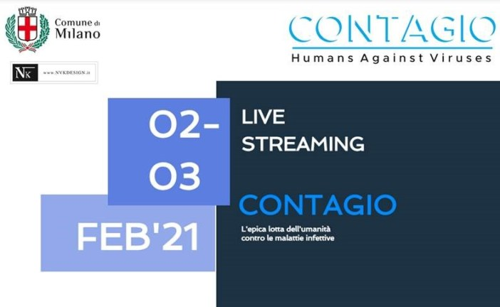 Evento Livestreaming – Contagio, Humans against viruses (2 e 3 Febbraio)